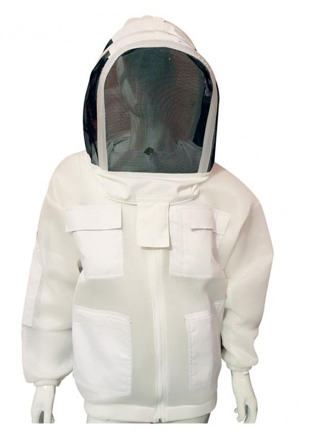 Airmesh Jacket White Color